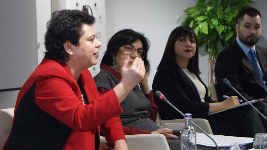 "International Women's Day: Conference on ""Women and Local Governance"" in Armenia"