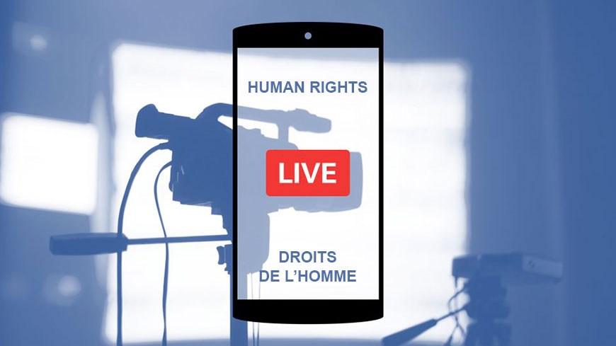 What can be done to make human rights popular again : Facebook live on 6 March 2018