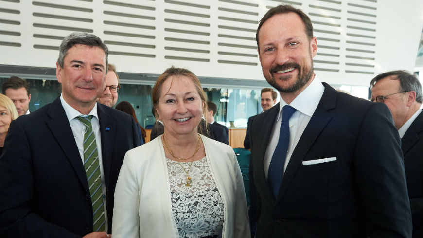 The President of the Chamber of Regions participates in the visit of the Crown Prince of Norway to the Council of Europe