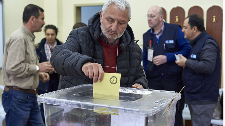 Congress election observation mission in Turkey on 31 March 2019