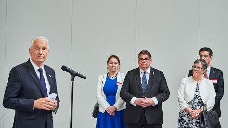 Gunn-Marit HELGESEN attends the Council of Europe's 70th anniversary ceremonies in Helsinki