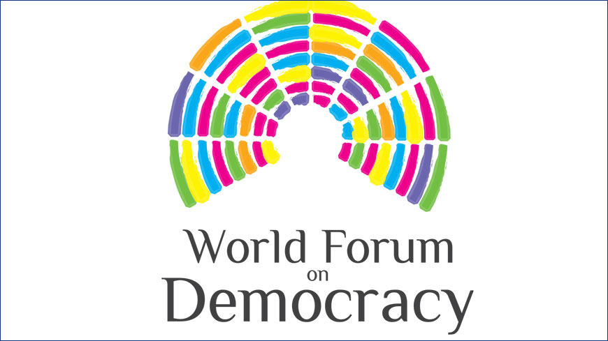 The World Forum for Democracy goes forward with an 8th edition – Call for initiatives