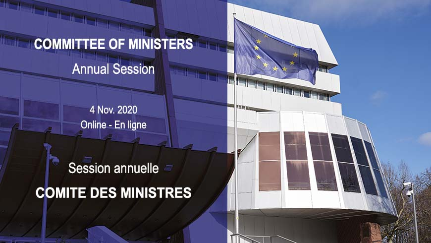Congress President to participate in the annual Session of the Committee of Ministers of the Council of Europe