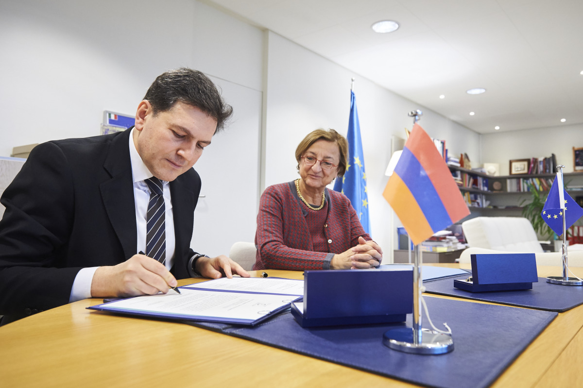 Armenia signs the Istanbul Convention