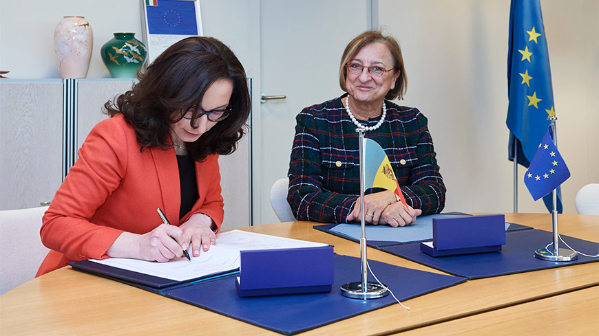 The Republic of Moldova signs the Istanbul Convention
