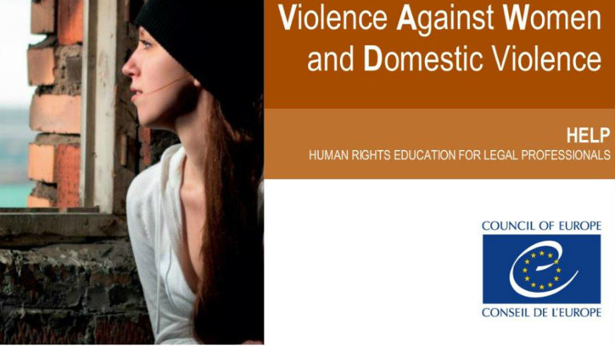New HELP online course on Violence against Women and Domestic Violence