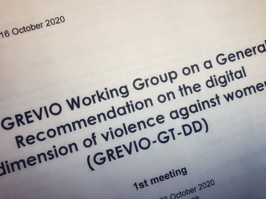 GREVIO's Working Group on a General Recommendation on the digital dimension of violence against women holds its first meeting