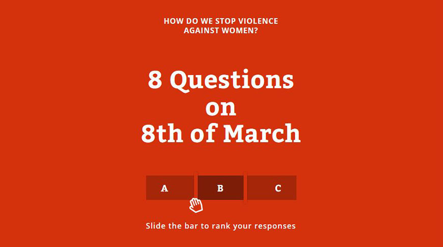 How do we stop violence against women?