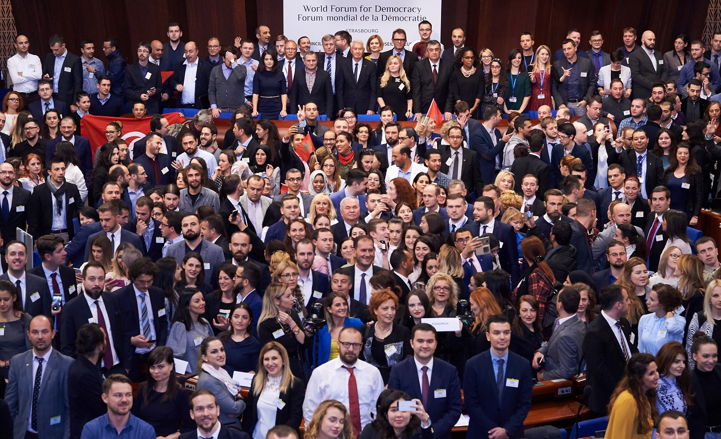 Schools of Political Studies at World Forum for Democracy 2017
