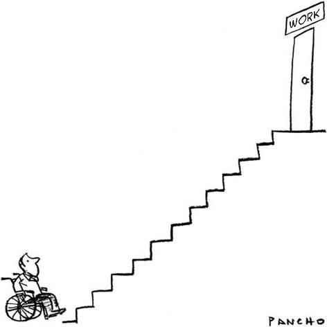 Image: Theme 'Disability and Disablism' by Pancho