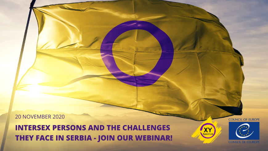 Intersex persons and the challenges they face in Serbia - Join our webinar!