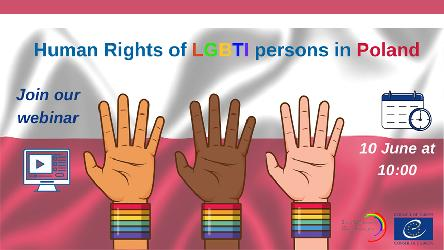 Webinar on Human Rights of LGBTI persons in Poland – Join Us!