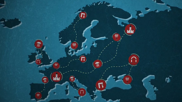 Council of Europe cultural routes
