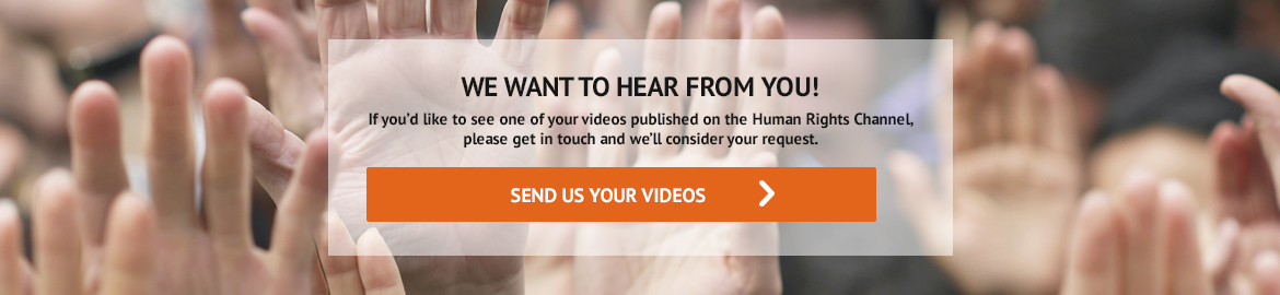 We want to hear from you! - send us your videos