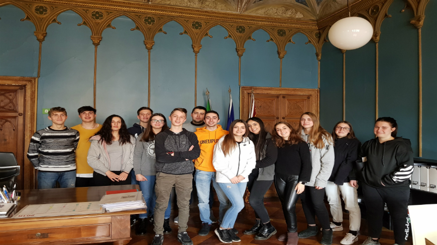 The Council of Europe welcomes two groups of high school students