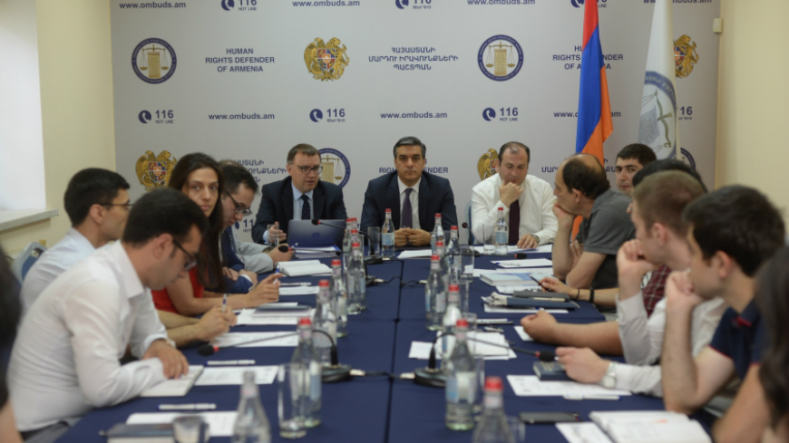 Mission to Yerevan focusing on the role of Ombudsman and NGOs in the execution of ECHR judgments