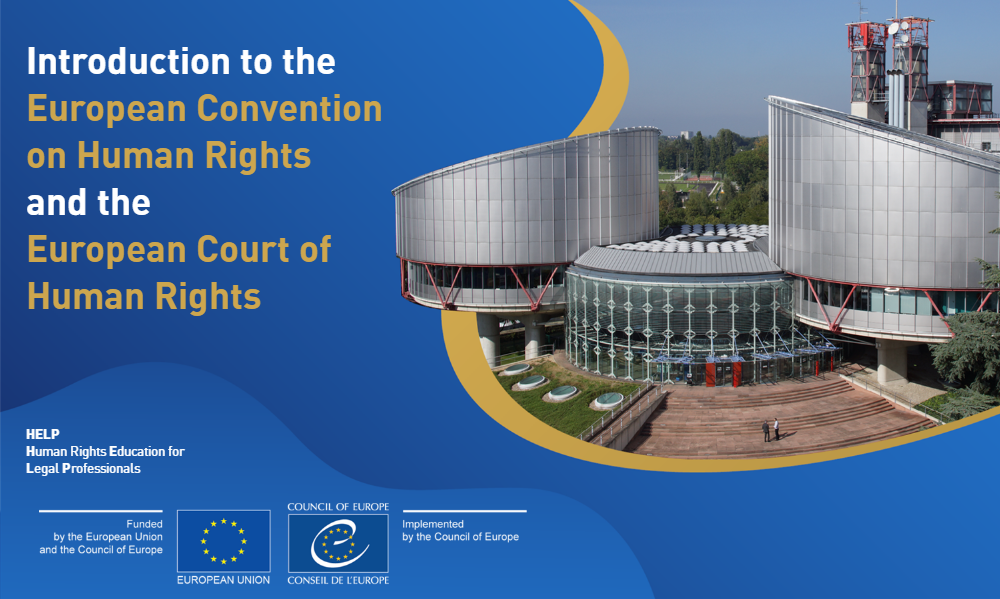 HELP training module on Execution of ECHR Judgments