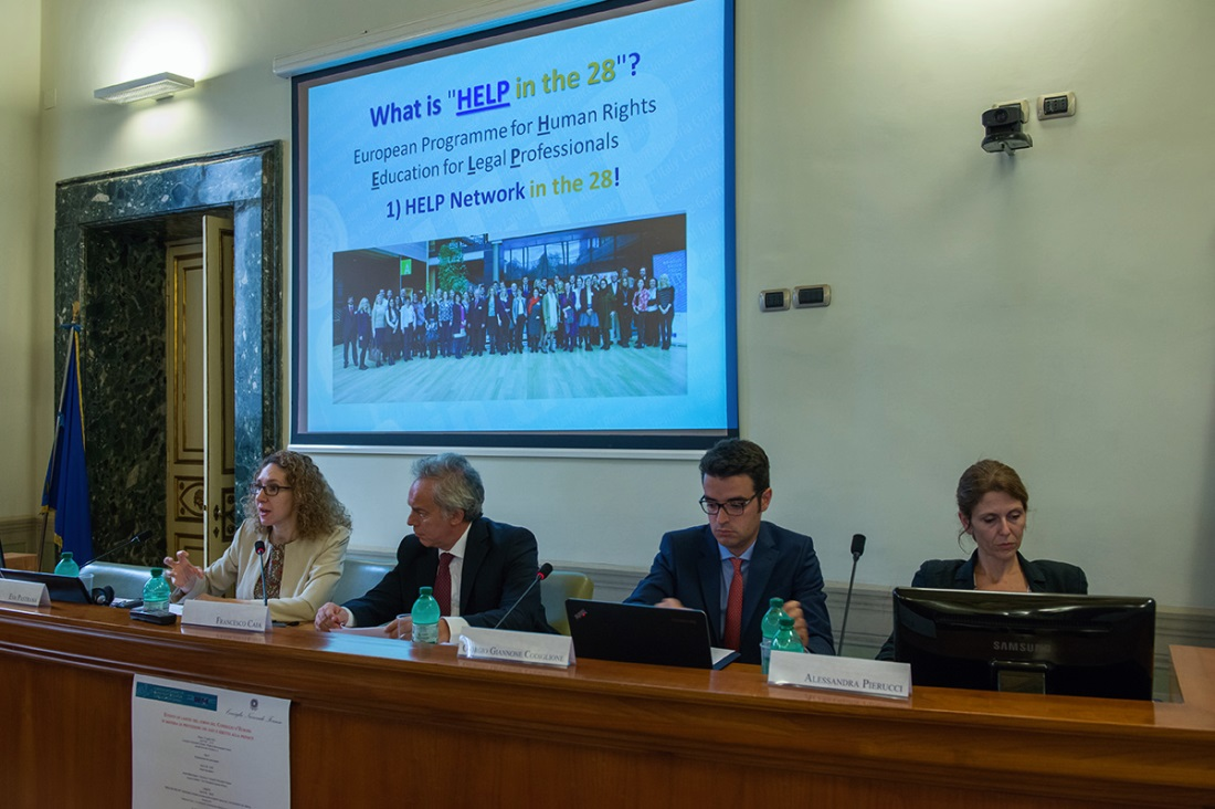"EU/CoE HELP in the 28 course on ""Data Protection and Privacy Rights"" launched in Italy"