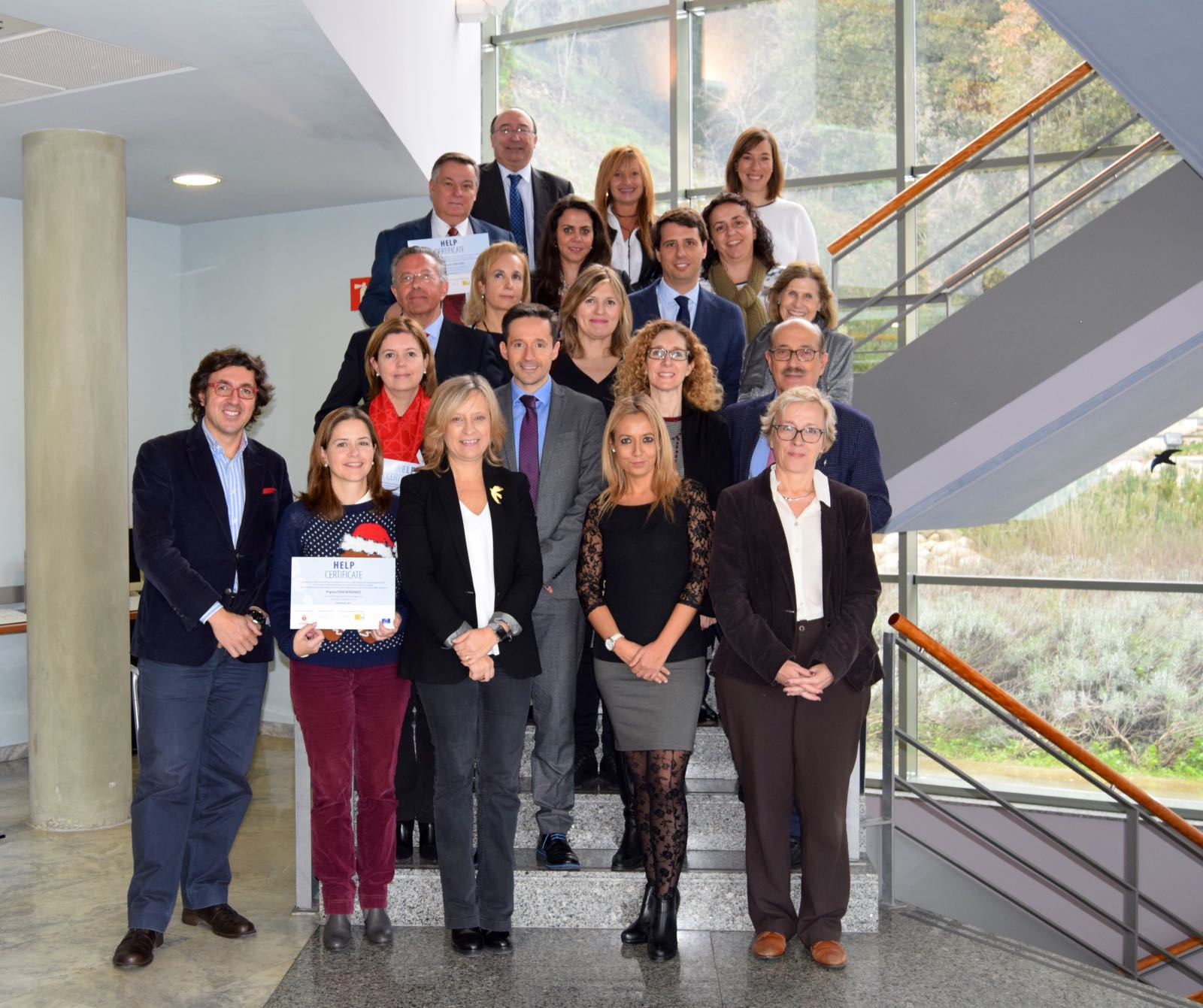 Closure of the HELP course MEDICRIME in the Spanish Judicial School