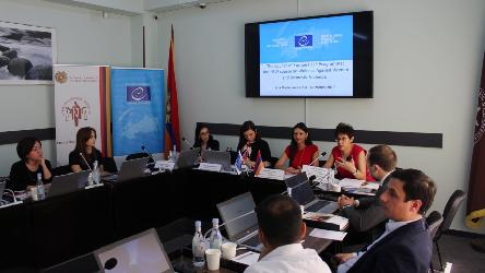 A third group of Armenian legal professionals to take the HELP course on Violence Against Women and Domestic Violence
