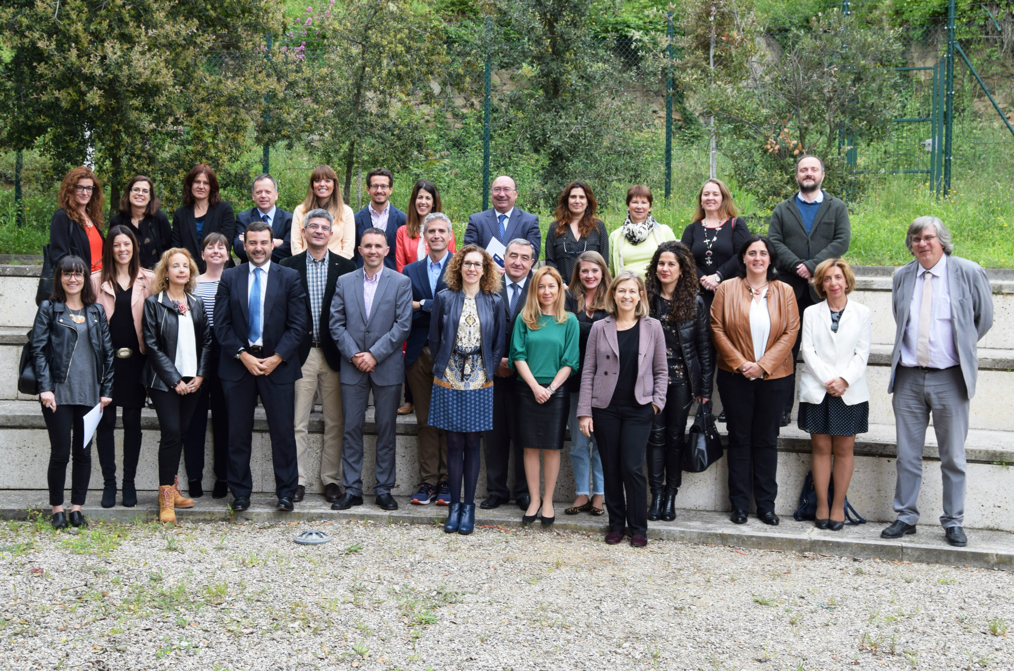 Group photo of participants from HELP/UNHCR course on ECHR and Asylum, © Spanish School of Judges