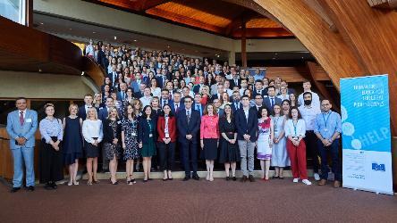 2019 HELP Annual Network Conference: HELP celebrated the 70th anniversary of the Council of Europe