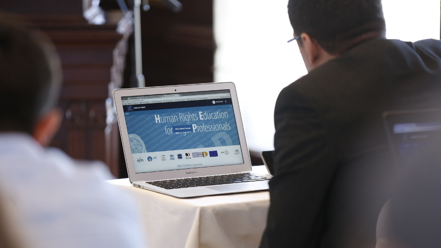 Launch of two HELP courses in Azerbaijan