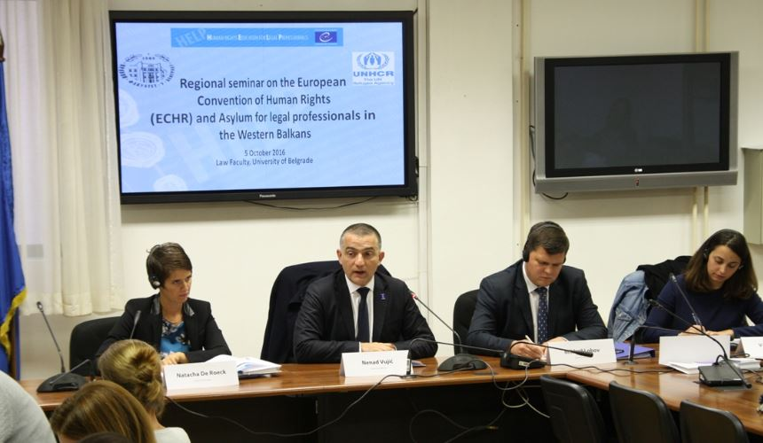HELP/UNHCR Asylum conference on the Balkan Route