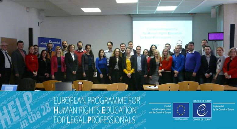 1st multi country EU-CoE 'HELP course on data protection' for Czech and Slovakian lawyers