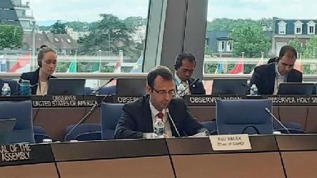 Statement of Mr Petr VÁLEK, Chair of the CAHDI, at the 1349th meeting of the Ministers' Deputies on 12th June 2019