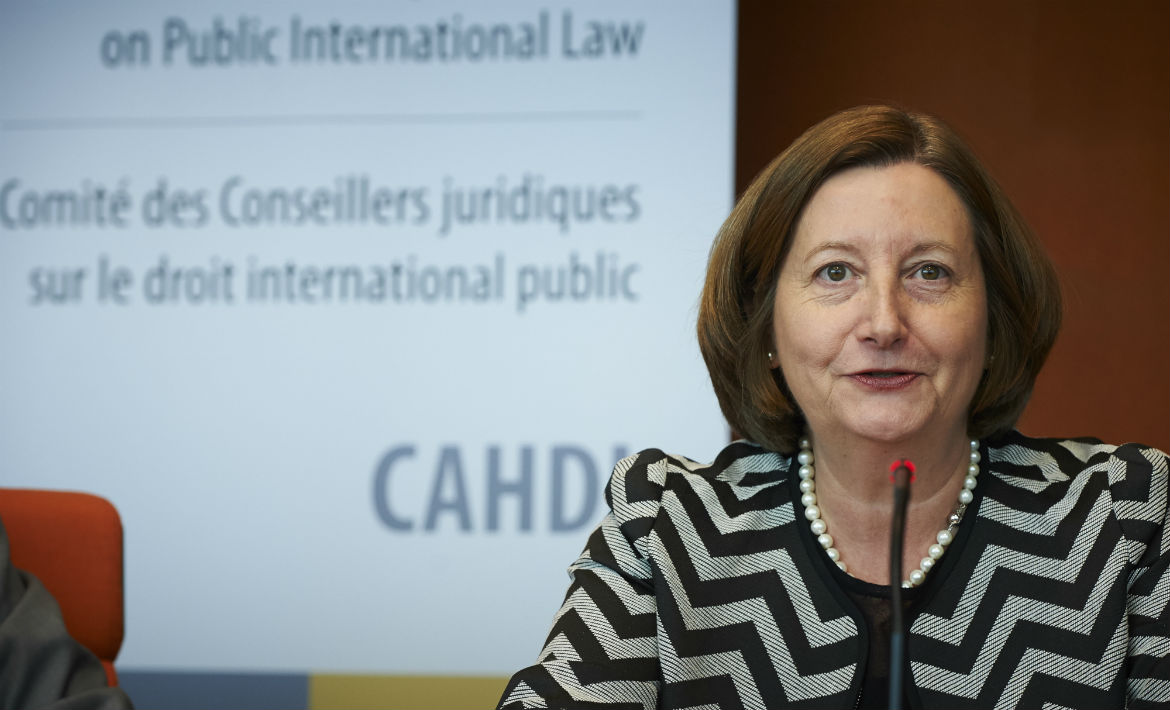 Presentation of Ms Silvia Fernández de Gurmendi, President of the International Criminal Court (ICC), during the 51st meeting of the CAHDI