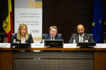 Presentation of Mr Miguel de Serpa Soares, Under-Secretary-General for Legal Affairs and United Nations Legal Counsel, during the 52nd meeting of the CAHDI