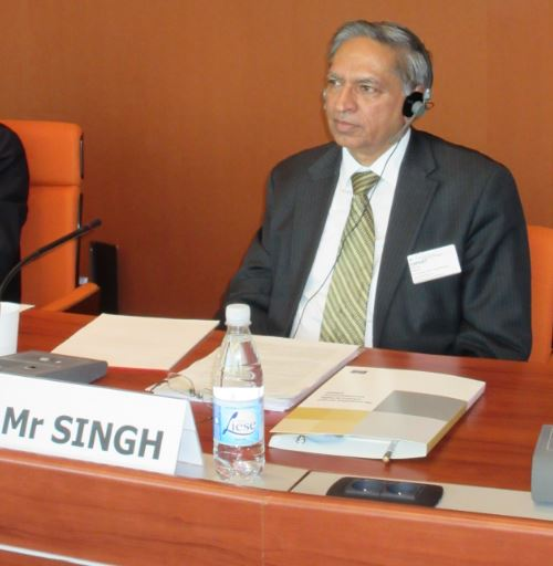 Mr Narinder Singh, Chairperson of the International Law Commission