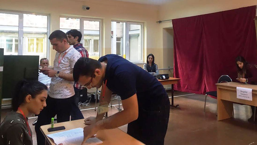 Broad Domestic observation of Yerevan council elections