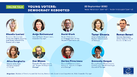 "Online talk ""Young Voters: Democracy Rebooted"""