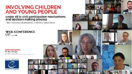 Children and young people under 18: agents of change for modern democracies