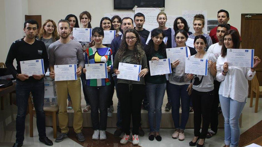 200 newly trained domestic observers in Armenia