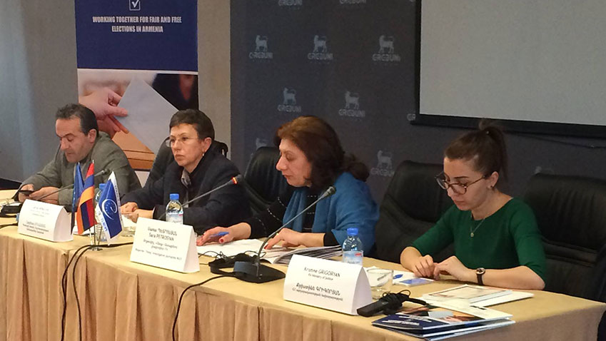 "Conference on ""Follow-up to the Recommendations of International Election Observation Missions in Armenia"""
