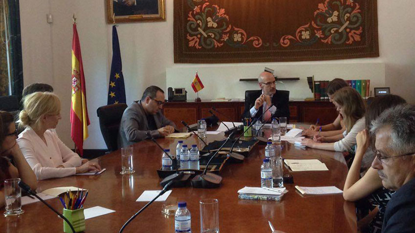 Study visit in Spain for the Moldovan Centre for Continuous Electoral Training