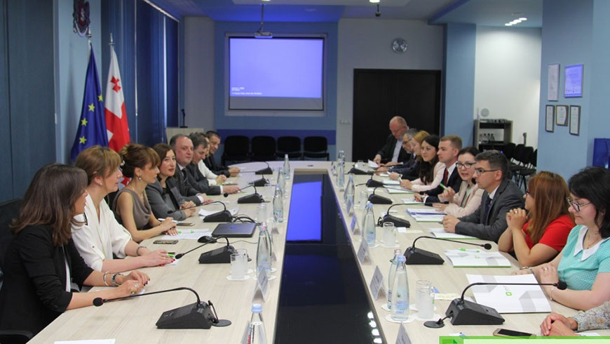 Moldovan election stakeholders visit in Georgia
