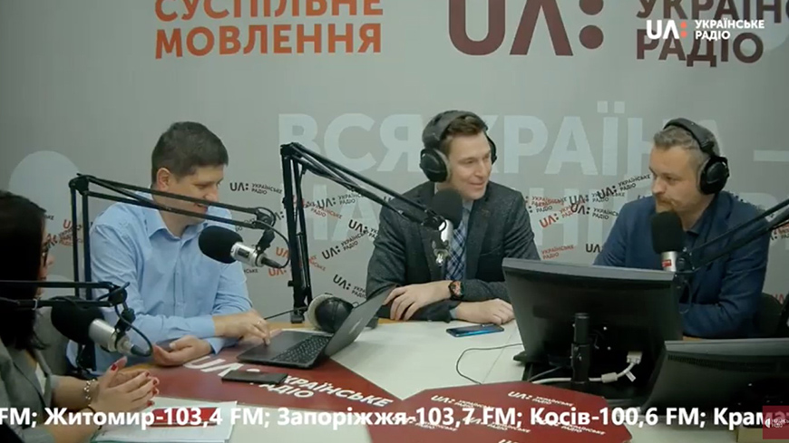 Ukrainian radio aired an episode of the programme 'Today. This Afternoon', where the new interactive course 'Elections in simple terms' discussed