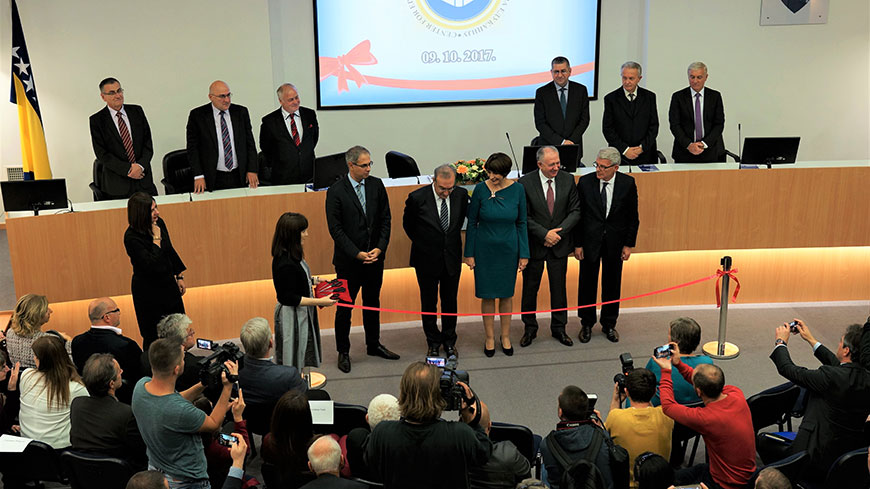 Opening of the new Education Centre for Elections in Bosnia and Herzegovina