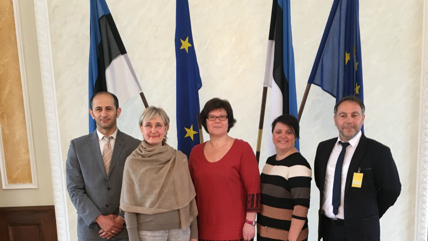 GRETA's first evaluation visit to Estonia