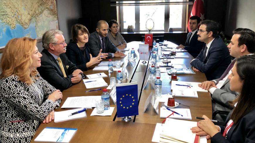 Première visite d'évaluation du GRETA en Turquie