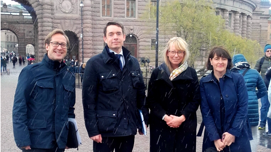 GRETA's second evaluation visit to Sweden