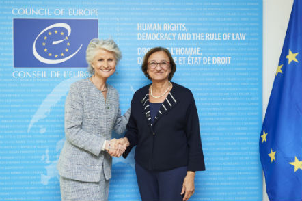 Deputy Secretary General meets with Ms Anna Maria Corazza Bildt, Coordinator for Child Rights of the European Parliament
