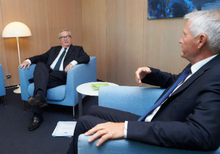 Secretary General meets with Mr Jean-Claude Juncker, President of the European Commission