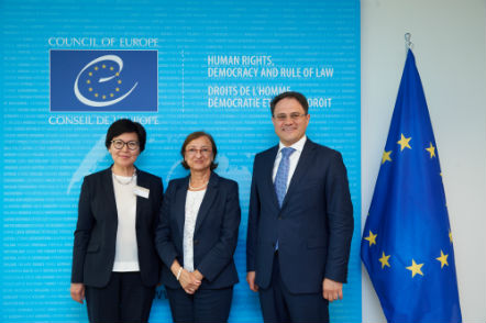 Deputy Secretary General meets with Mr Roman Vassilenko, Deputy Minister for Foreign Affairs of Kazakhstan and Ms Aigul Kuspan, Ambassador of Kazakhstan to Belgium