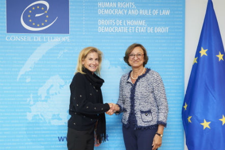 Deputy Secretary General meets with Ms Jamie D. McCourt, USA Ambassador to France, Permanent Observer to the Council of Europe