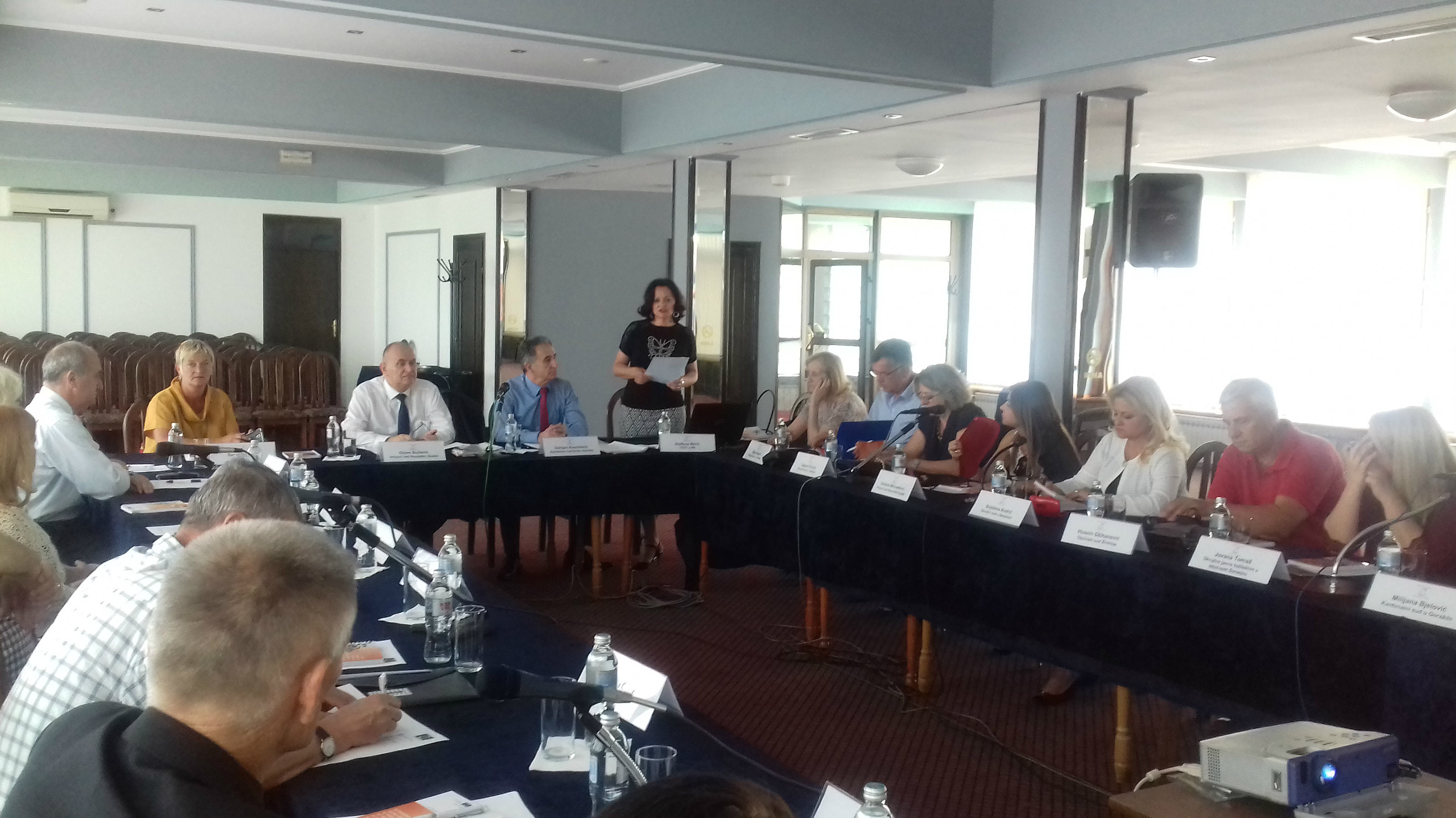 "A round-table on ""Harmonisation of Judicial Criminal Practice in Bosnia and Herzegovina"""